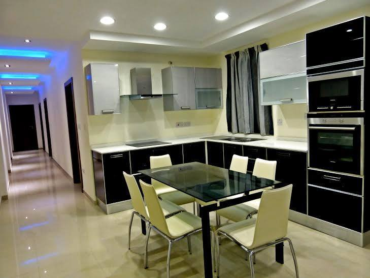 3-Bed Luxury Apartment To Let in Sliema, Malta