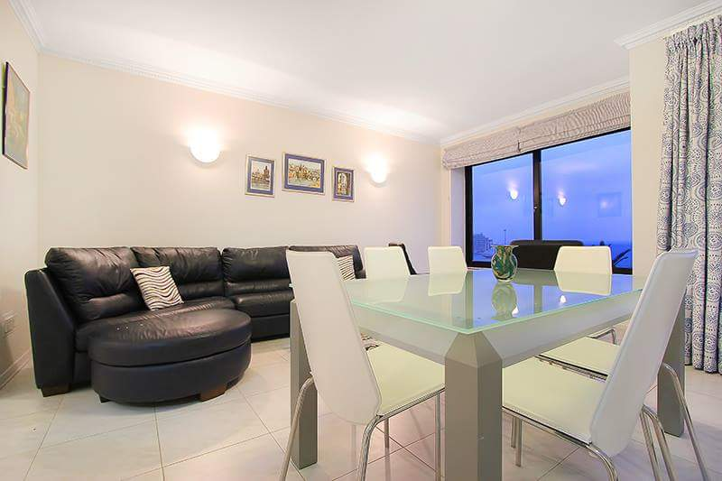 3 Bed Modern Seafront Apartment, Sliema